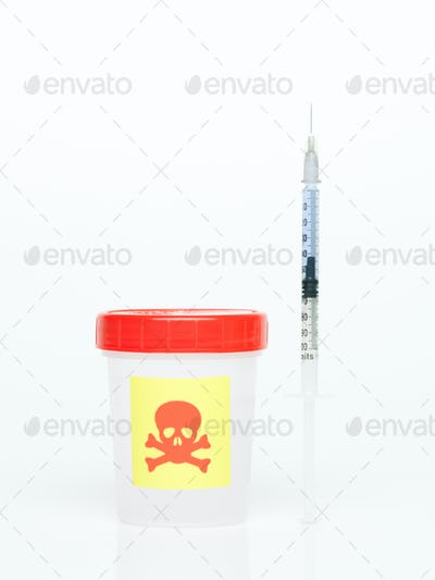 poisonous things in a syringe
