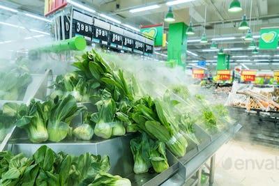 supermarket ,vegetable zone