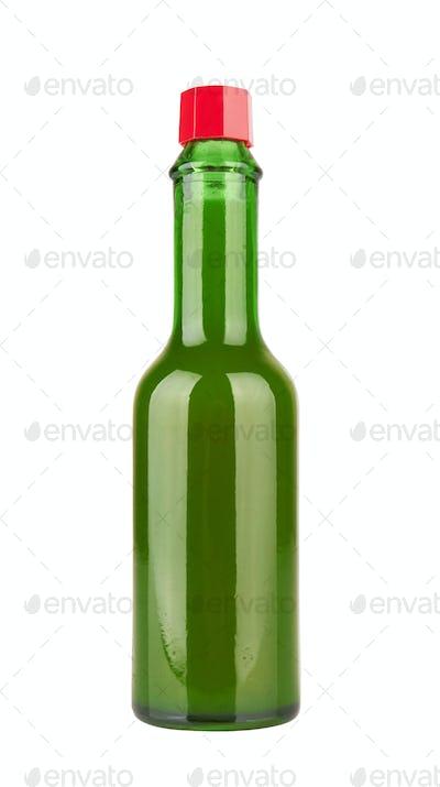 bottle of hot sauce