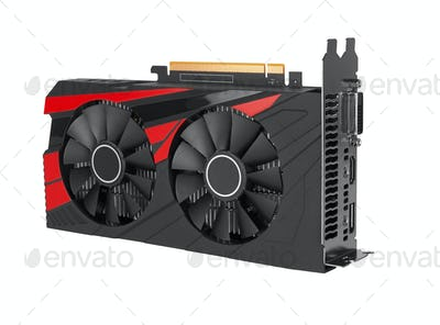 computer video card isolated