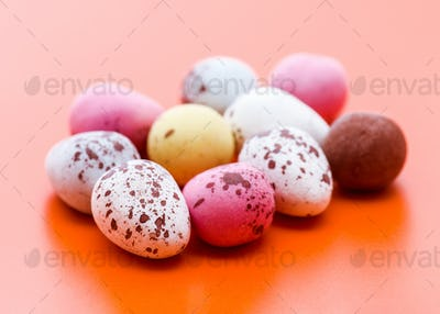 chocolate covered with icing sugar isolated on plain background