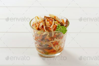pickled bean sprout salad