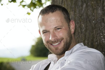 bavarian tradition man portrait