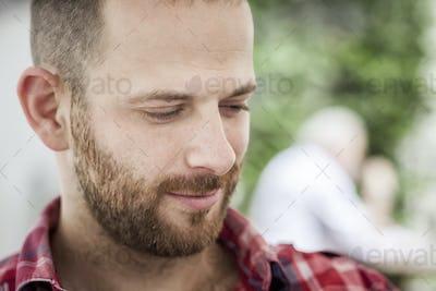 male portrait with beard