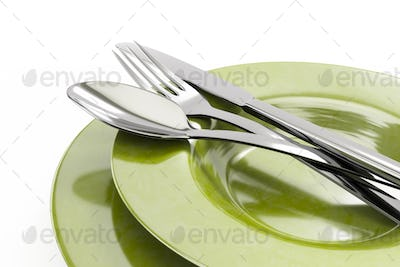 some typical style dishware