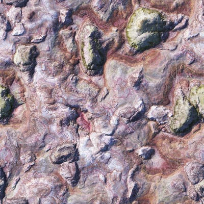 aerial view of a wild landscape seamless