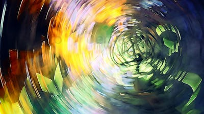 abstract color swirl