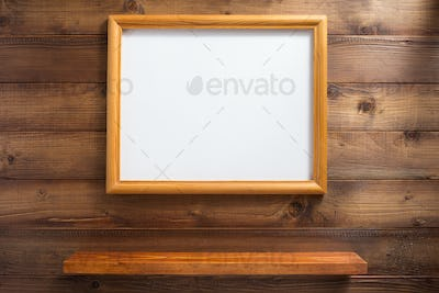photo picture frame and wall shelf