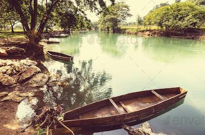 River in Guatemala