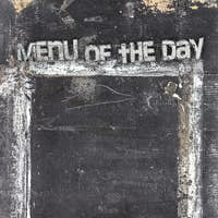 "Chalkboard ""Menu of the day"""