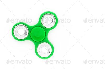 Green finger spinner