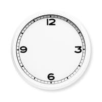 Clock face without the hands