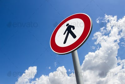 Prohibition of transit to pedestrians