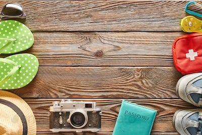Travel items: beach vs. hike