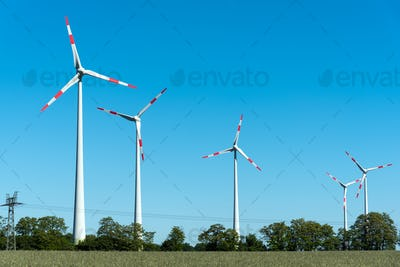 Wind energy converters in Germany