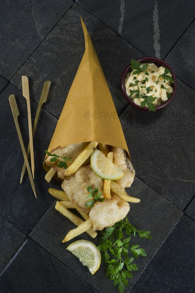 Cod and french fries
