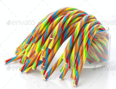 soft sticks bundle colored licorice