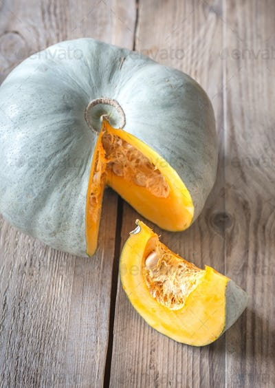 Grey pumpkin