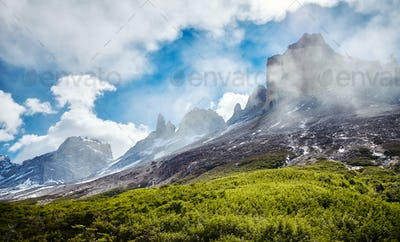 Wilderness of the Torres del Paine, Chile.