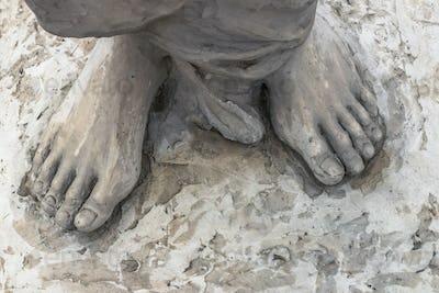 Jesus feet