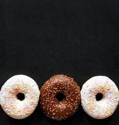 Sweet tasty donut