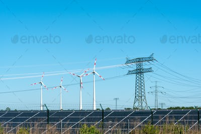Renewable energy and transmission lines