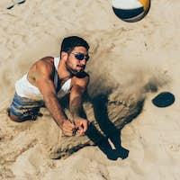 Beach volleyball Player