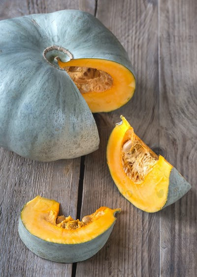 Gray pumpkin