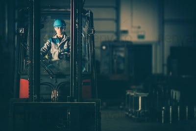 Warehouse Forklift Operator