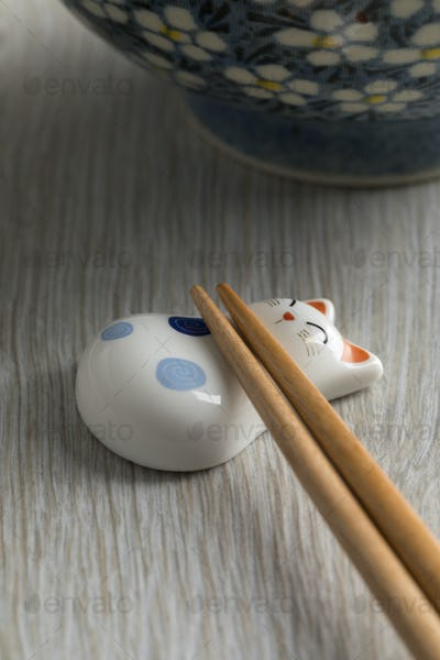 Pair of traditional Japanese chopsticks