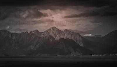 Stunning mountain scenery near Antalya in Turkey