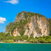 Impressive coastline of Thailand