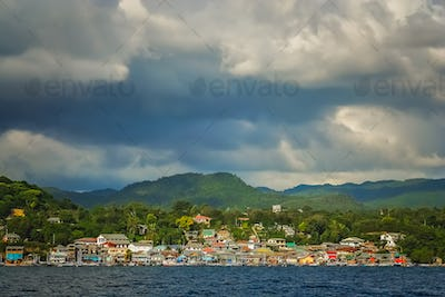 Labuan Bajo, fishing town in Flores