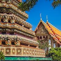 Grand Palace complex in Bangkok