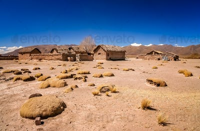Small bolivian village