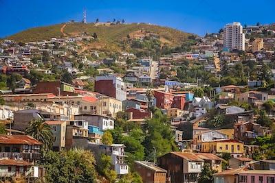 Rooftops of Valparaiso