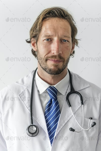 Portrait of an obstetrician