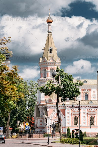 Grodno, Belarus. Cathedral Of Intercession Of Most Holy Theotoko