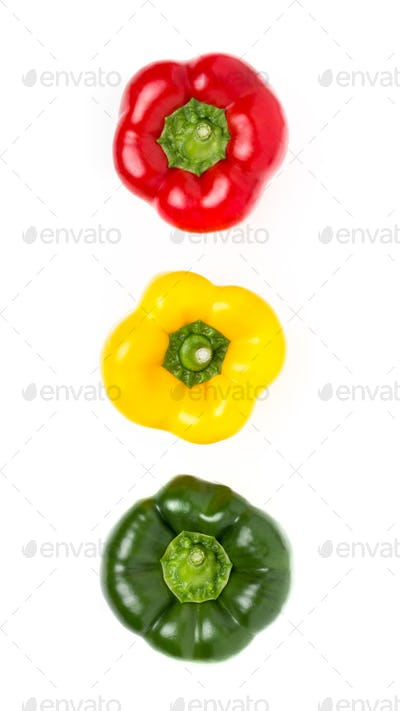 Traffic lights peppers