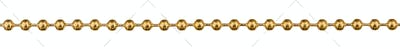 Decorative chain, decorative element for manual work, isolated o