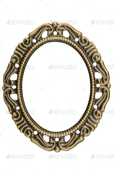 Filigree in the form of a frame, decorative element for manual w