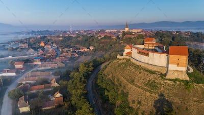 Feldioara Fortress. Brasov, Romania