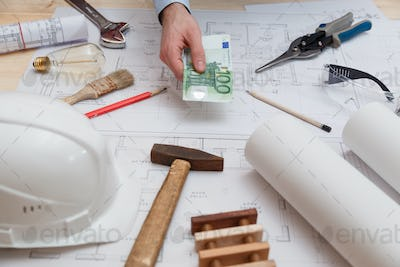 Man pays for engineering, construction and installation services