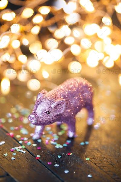 Little pig, lucky charm