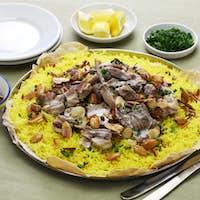 mansaf, Jordanian national dish
