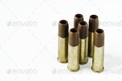 Closeup of ammunition