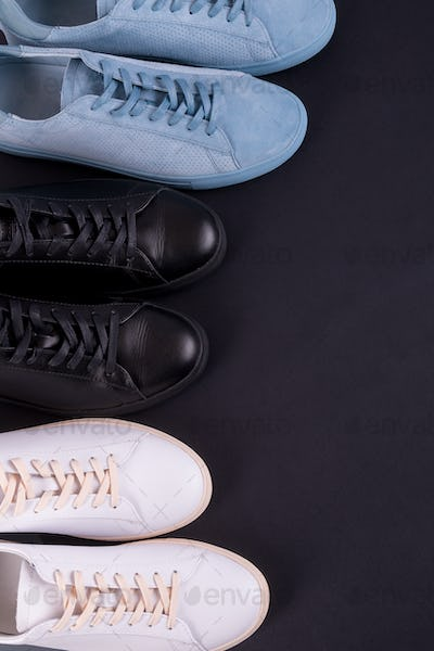 Two pair of sneakers shoes