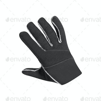 Bicycle glove isolated