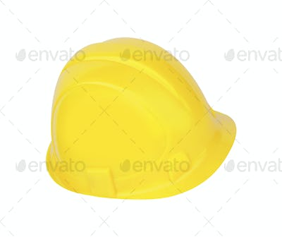 Construction hard hat as a work safety