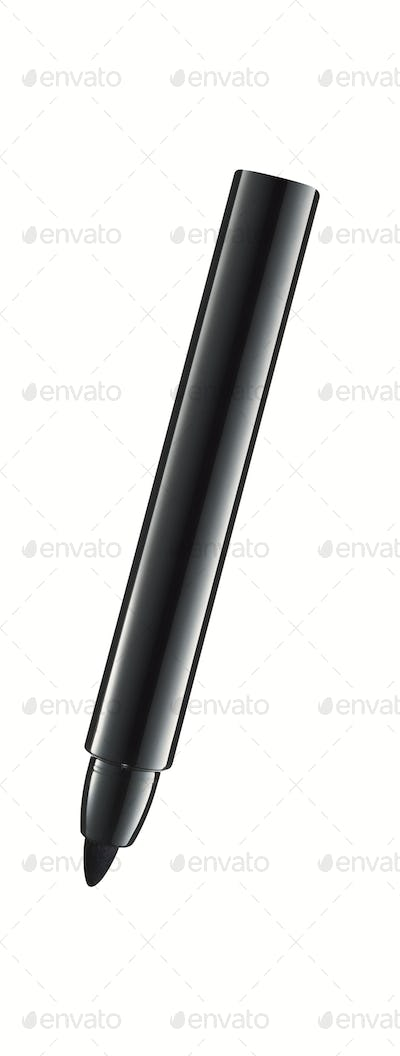 Black marker isolated on white background